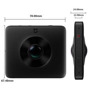 Image 4 - In Stock Xiaomi Mijia 360° Panoramic Camera 3.5K Video Recording Sphere Camera IP67 Rating WiFi Bluetooth Mini Sport Camcorder
