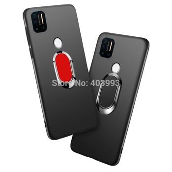 For Umidigi A9 Pro 6.3 Case For Umidigi A9 Pro Finger Ring Magnet Matte Protector Case For Umidigi A9 Pro