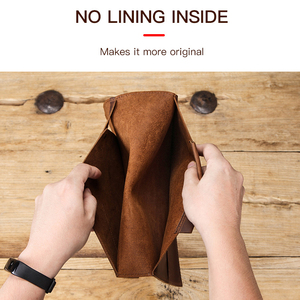 Image 4 - Premium Nubuck Leather Sleeve Pouch bag For New iPad Pro 10.2 inch 2020 Retina folio case with Apple Pencil Holder phone pocket