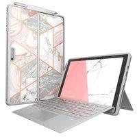 Para Microsoft Surface Pro caso 7 caso/Pro caso 6 caso-Blason Cosmo Slim protector cubierta de parachoques con sostenedor de la pluma Compatible con teclado