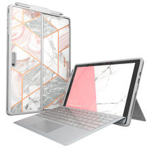 For Microsoft Surface Pro 7 Case/Pro 6 Case i-Blason Cosmo Slim Protective Bumper Cover WITH Pen Holder,Compatible With Keyboard