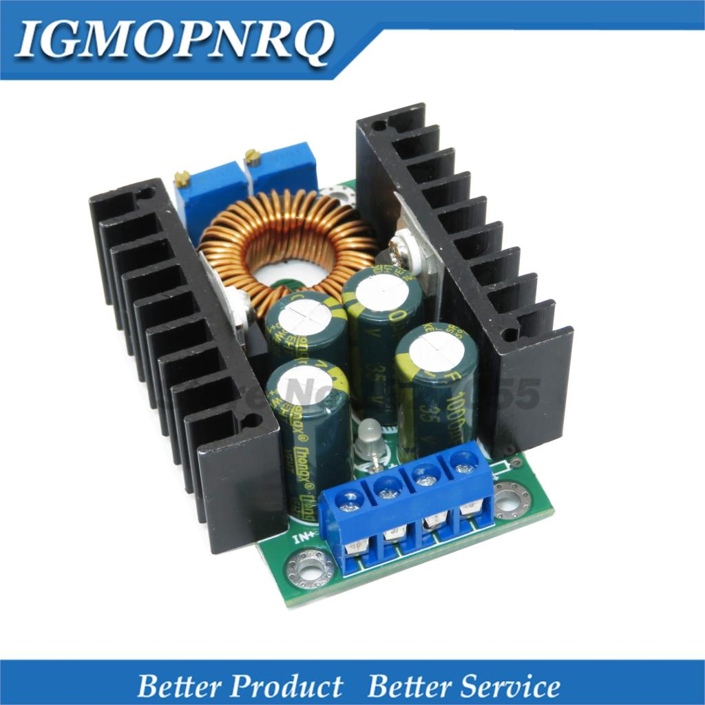 1 pièces/lot CC 9A 300W convertisseur abaisseur 5-40V à 1.2-35V module