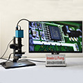 Full HD sony сенсор электронный видео 3D инспекционный микроскоп 2D 3D переключение Оптическая лупа захват изображения Запись видео