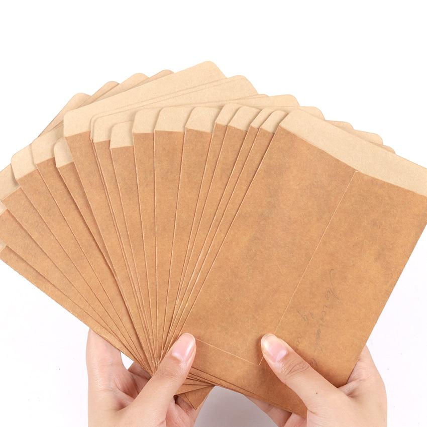 10PCS/Lot Classical Kraft Blank Paper Envelopes Wedding Invitation Envelope Gift DIY Decorative Envelope