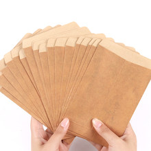 10 Pçs/lote Clássica Kraft Envelopes de Papel Em Branco Envelope Envelope Do Convite de Casamento Presente Decorativo DIY