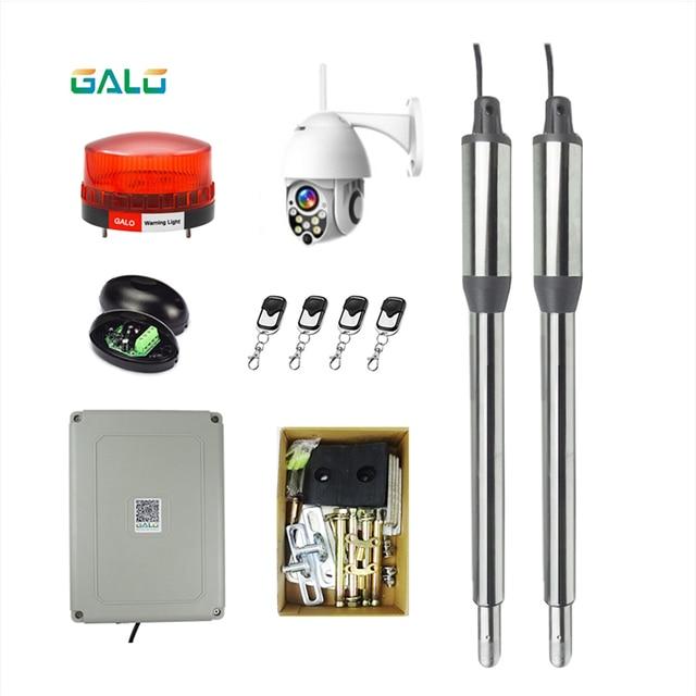 Paslanmaz otomatik kapısı açıcı kapıları GALO PKM 101 up to16 Feet uzunluğunda ve 650 pound çift salıncak kapısı