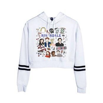 Riverdale South Side Serpents Print Hoodies Long Sleeve Shirts Women's Sweatshirt Harajuku Hoodies 10