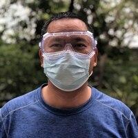 Transparent Schutzbrille Anti Splash Auswirkungen Beständig Arbeit Sicherheit Anti Nebel Sand Beweis Reiten Anti  schock Schutzbrille auf