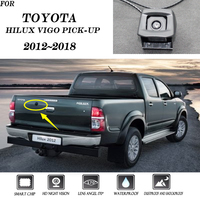 For Toyota rear view camera CCD / backup camera Reverse hole OEM camera Hilux Vigo pick up 2012 2013 2014 2015 2016 2017 2018