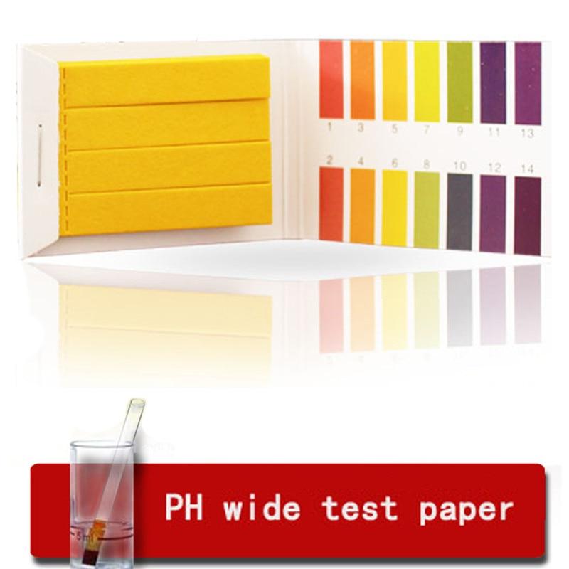 80PCS Cosmetic PH Test 1-14 PH Alkaline Acid Indicator Test Strips Laboratory Urine Saliva Test Tools  Full Range Urine & Saliva