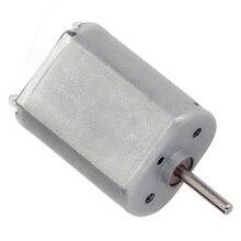 цена на F130 Micro mini 6V DC High Speed Motors 5150/6900/13000RPM In DC Motor 3-9V Use For Robot Toys Electric Toothbrush Motor etc.