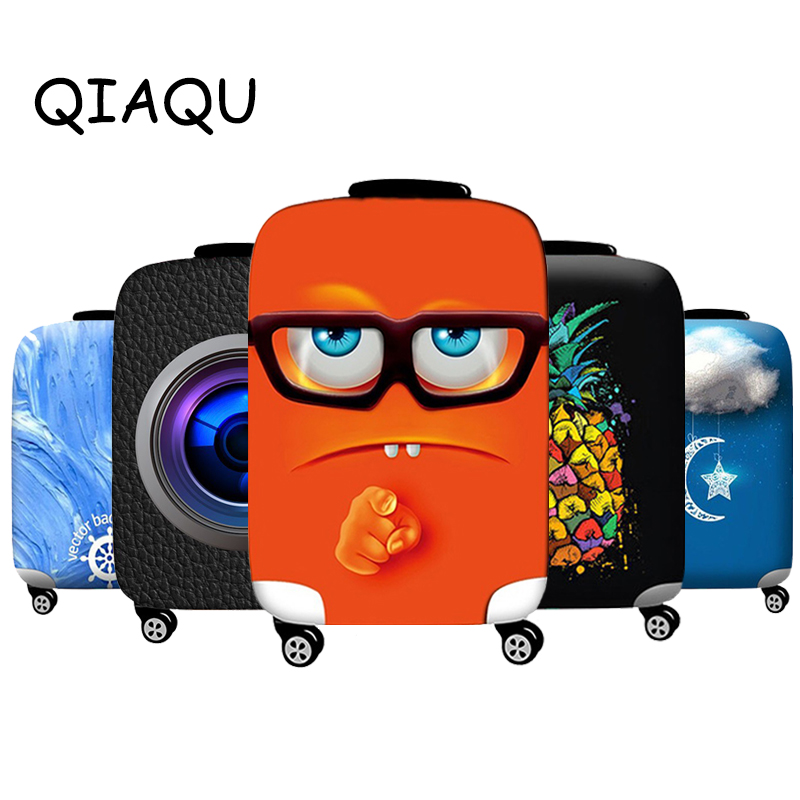 Travel Luggage Elastic Protective Cover Animal Pattern For 18-32inch Suitcase Cover Quality Accessories Baggage Protective Cover