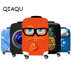 Travel Luggage Elastic Protective Cover Animal pattern For 18-32inch Suitcase Cover quality Accessories Baggage Protective Cover(China)