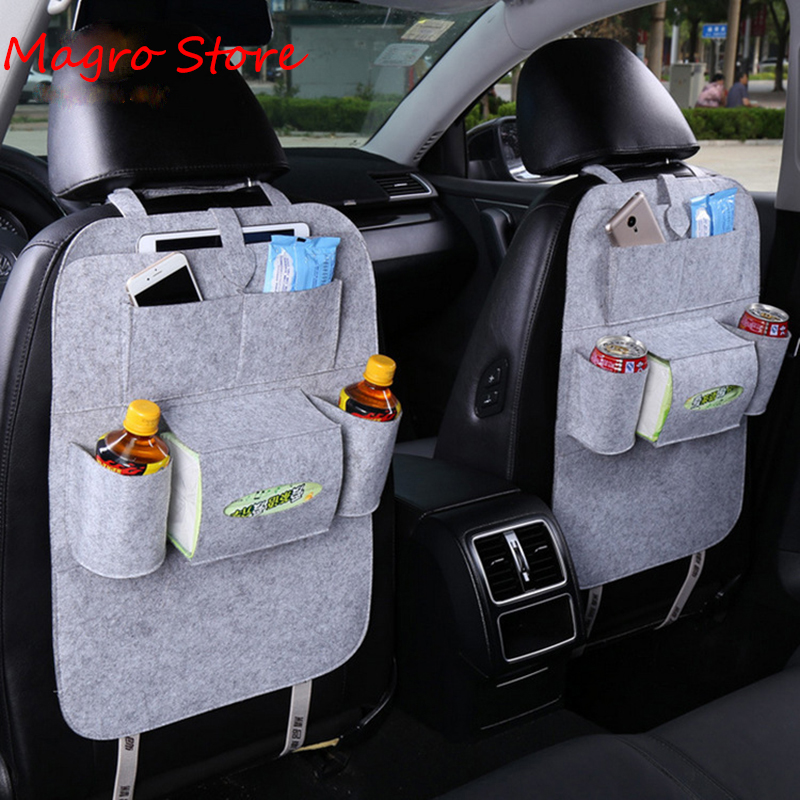 Shopping car Design Fashion Car seat storage bag styling Multifunction back bag child safety seat Bag Baby Shopping car Covers