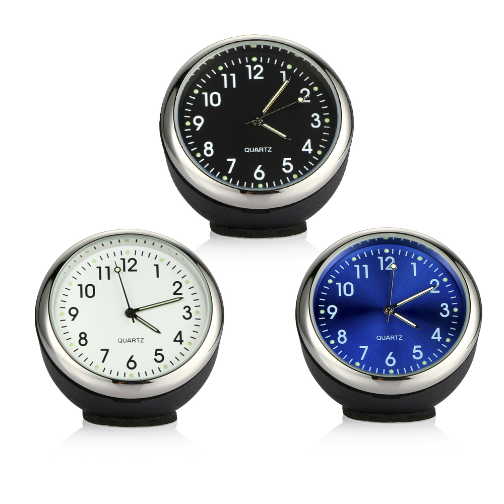 Car Clock Ornament Auto Watch Decoration Automobiles Interior Dashboard Time Display Digital Pointer Clock In Car Accessories