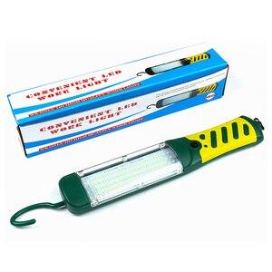 Image 4 - Draagbare Led Emergency Zaklamp 80 Leds 40W Veiligheid Werk Licht Opknoping Magnetische Auto Inspectie Reparatie Handleld Werk Lamp