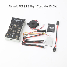 Pixhawk PX4 2.4.8 Flight Controller Kit Set 32Bit ARM PX4FMU PX4IO Combo RC Part