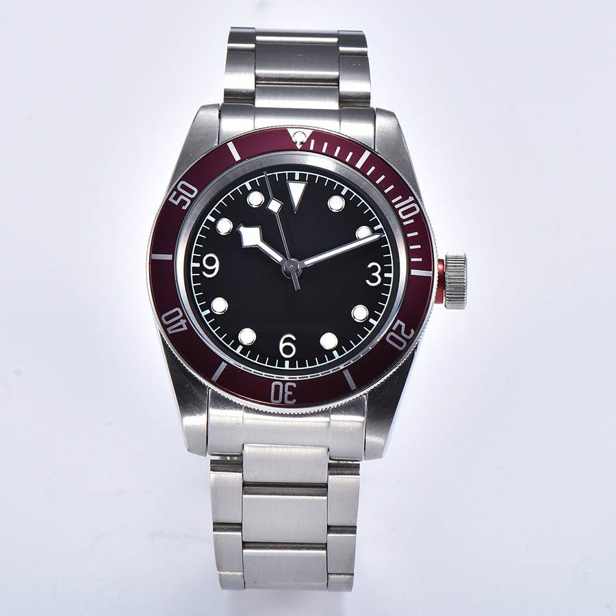 watch men automatic mechanical watch Luminous waterproof 316L Solid stainless steel 41MM  DT56