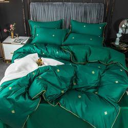 Svetanya 600TC Ägyptischer Baumwolle Bettwäsche Set Marke Neue Bettwäsche Ausgestattet Flache Blatt Kissenbezug Quilt Abdeckung