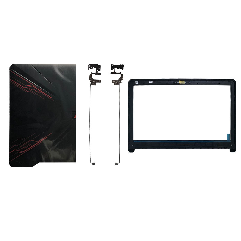 Laptop Cover For Asus FX80 FX80G FX80GD Fx504 FX504G FX504GD FX504GE LCD Top Back Cover/LCD Front Bezel/Hinges