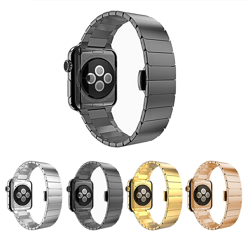 Band For Apple Watch Series 4/5/3/2/1 Sport Bracelet 42 Mm 38 Mm 44mm Strap For Iwatch 4 Band Metal Loop