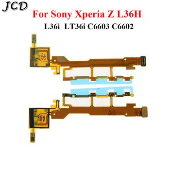 JCD For Sony Xperia Z L36H L36i LT36i C6603 C6602 Power Volume ON OFF Button Keypad Switch Mic Flex Cable Replacement Parts image