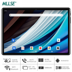 Tablette MLLSE, processeur Octa Core, 6 go de RAM, 64 go de stockage, Android 9.0 Pie, tablette 10 pouces, 1280x800 IPS, Wi-Fi, USB Type C