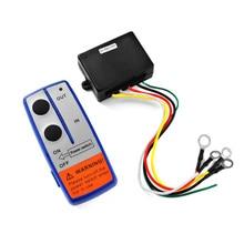 12 В электрический комплект системы трубка Универсальный приемник грузовик предупреждающий переключатель беспроводной лебедки автомобиля