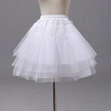 Юбка-американка с капюшоном для девочек; 4 слоя; короткое кринолиновое платье-комбинация для маленьких принцесс; Нижняя юбка с цветочным узором для девочек; аксессуары для свадебной вечеринки