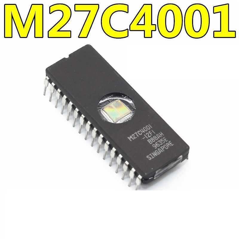 M27C4001-12F1 27C4001 IC EPROM UV 4 ميغابت 100NS 32 اللجنة