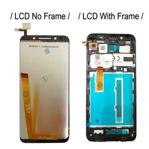 "Image 2 - 5,34 ""ЖК дисплей с рамкой для Vodafone Smart N9 lite LCD N9lite дисплей сенсорный дигитайзер сборка VFD620 дисплей VFD 620 экран"