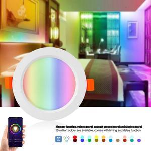 Image 3 - المنزل الذكي LED النازل أتمتة واي فاي التبديل ضوء لمبة العمل مع أليكسا جوجل مساعد المنزل الحياة الذكية تويا APP