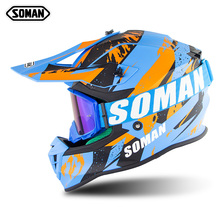 Helmet Motocross Kask Racing Casque Off-Road DOT Ece-Dot MX Cross-Country Cool Breathable