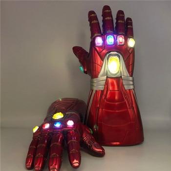 1: 1   4  Gauntlet  Gloves War Light LED Action Figure Cosplay Prop Halloween Gift Children 1