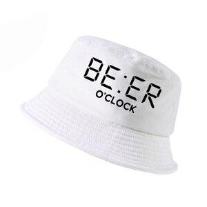 100% хлопок, забавное пиво, оклок, принт, мужские рыбацкие шапки, прикольные летние мужские и женские Панама, уличная Панама, Рыболовная Шапка