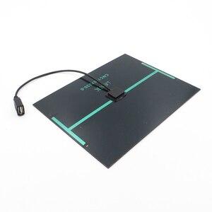 Image 3 - ソーラーパネル充電器 6V 2 ワット 3 ワット 3.5 ワット 4.5 ワット 6 ワット多結晶太陽電池 DIY ソーラーバッテリー充電携帯電話 5V USB ケーブル 30 センチメートル
