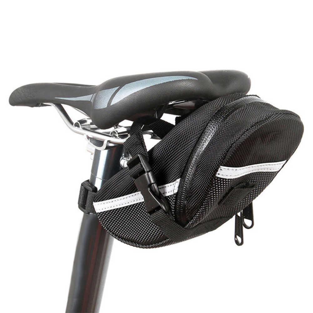 Nylon Sacchetto Della Bicicletta Impermeabile Antiurto Sella sacchetto di Immagazzinaggio del Sacchetto Sedile di Guida Posteriore del Sacchetto Della Sella Del Sacchetto Della Bicicletta Accessori