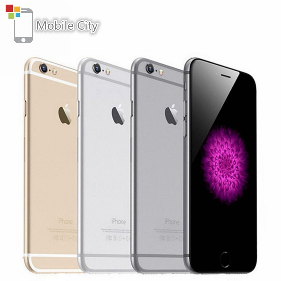 Apple iPhone 6 Original Dual-Core 16GB Fingerprint Recognition Refurbished IOS 1G 1GB-RAM