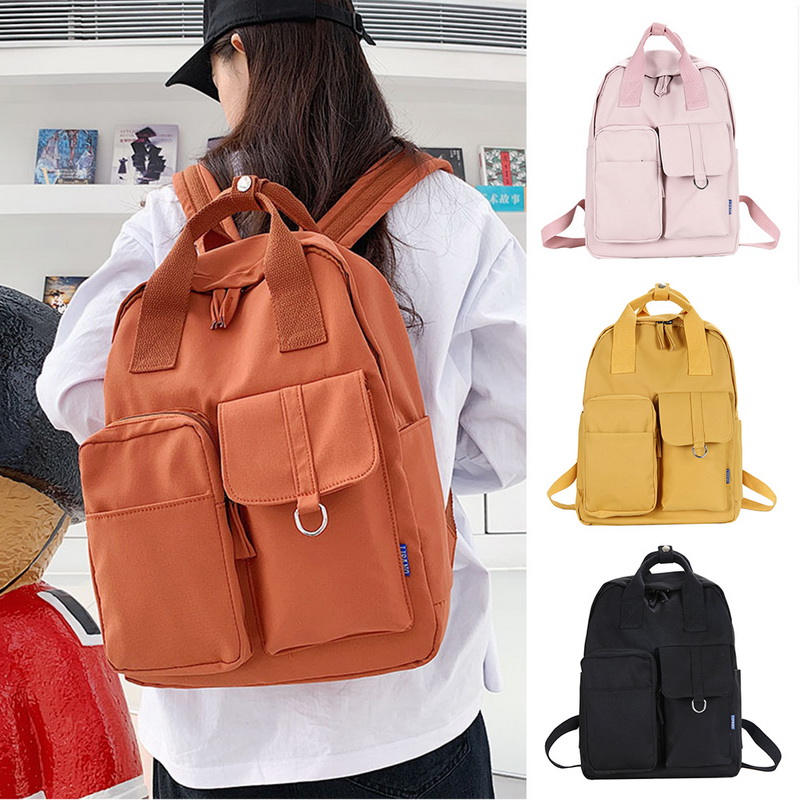 New Trend Female Backpack Fashion Women Backpacks College School School Bag Harajuku Travel Shoulder Bags For Teenage Girls 2020