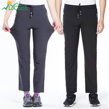 Lovers Outdoor Trekking Hiking Pants Men/Women Summer Thin Quick Dry Trousers Camping/Climbing/Fishing Men's Sport Pants AM238 new outdoor pants men women camping hiking mujer softshell pantalon hombre climbing camouflage thermal trekking hunting trousers