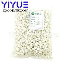 1000pcs XH2.54 2p 3p 4p 5p 6pin 2.54mm Pitch Pin Header JST Connector Wire Connectors Adaptor XH 2.54mm Spacing Connector TJC3