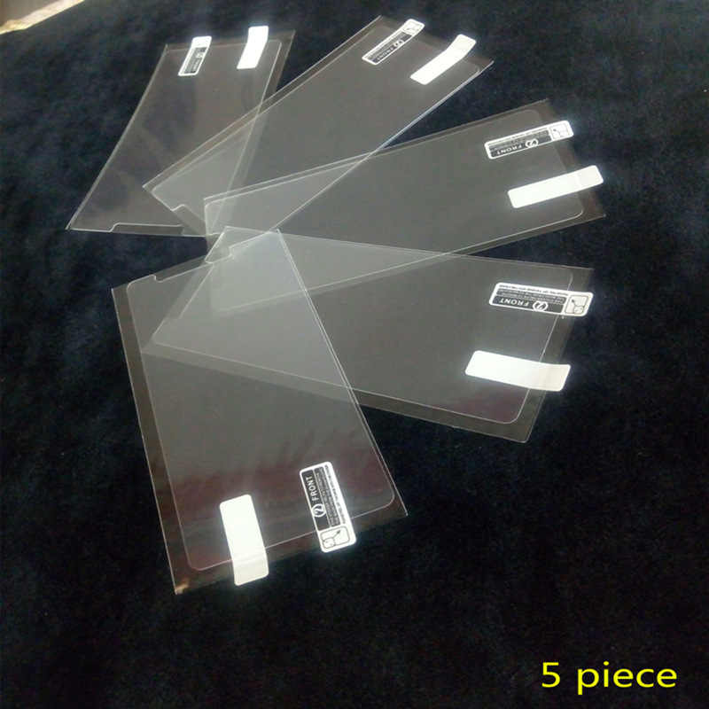 1/2/5/10 Pcs Ultra Thin Klar HD LCD Screen Protector Film Mit Reinigungs Tuch Film Für Leagoo elite 1.