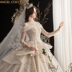 Mutterschaft Hochzeit Kleid Real Photo High Qualität Royal Schwangerschaft Hochzeit Kleider 2020 Weg Von der Schulter braut Brautkleid Kleid