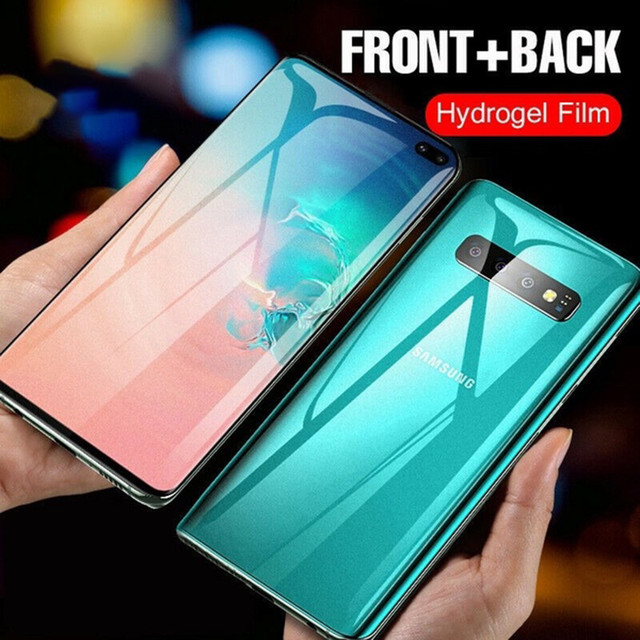 20D Front Back Full Cover Hydrogel Film For Samsung Galaxy S9 S8 S10 Plus Screen Protector For Note 8 9 10 Plus S10e Not Glass 2