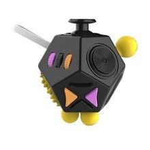 Nuovo giocattolo magico antistress aggiornato rilassamento stress allevia il cubo ansia disagio punte delle dita giocattoli divertenti per adulti regalo