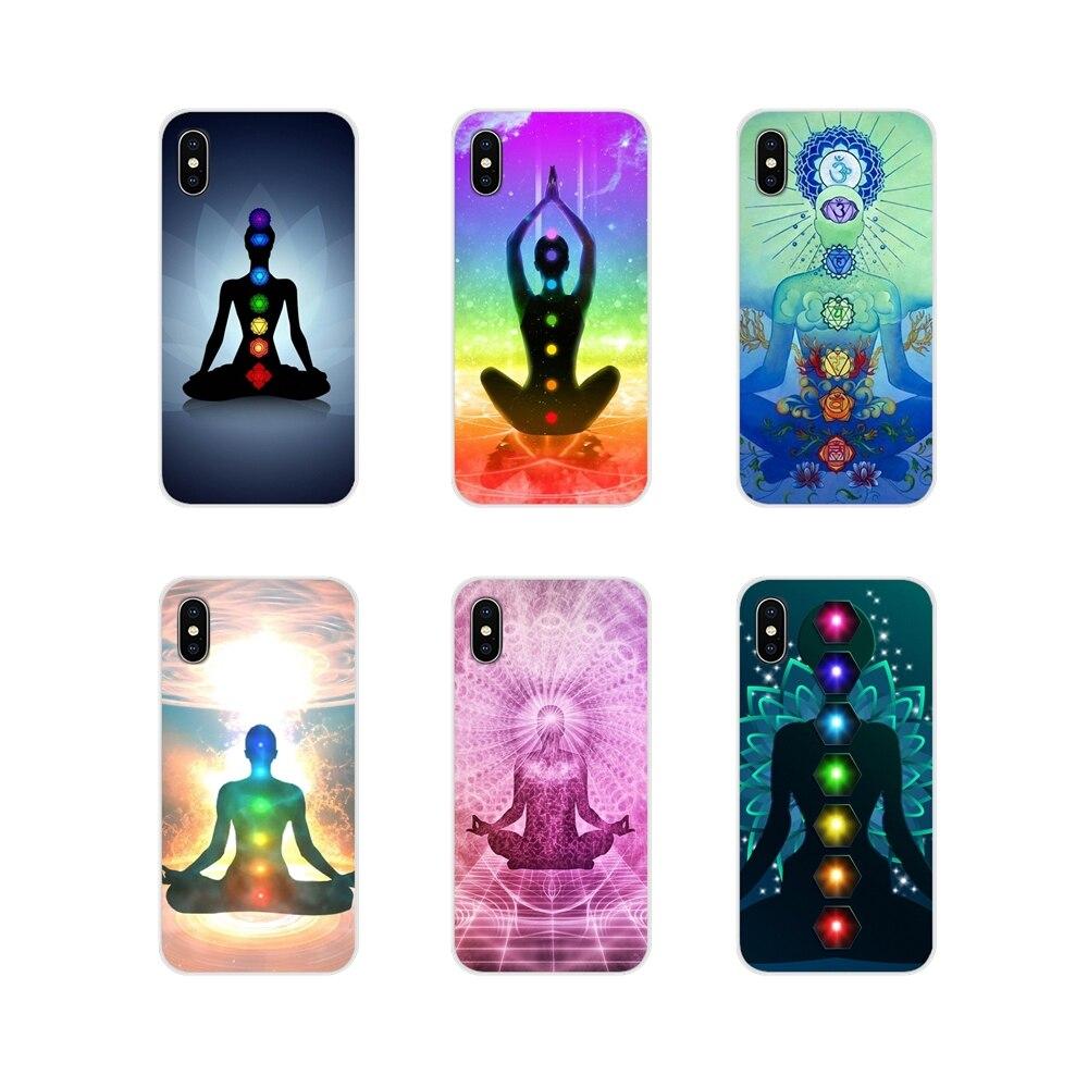 Chakra Yoga Fashion For Huawei Nova 2 3 2i 3i Y6 Y7 Y9 Prime Pro GR3 GR5 2017 2018 2019 Y5II Y6II Accessories Phone Cases Covers