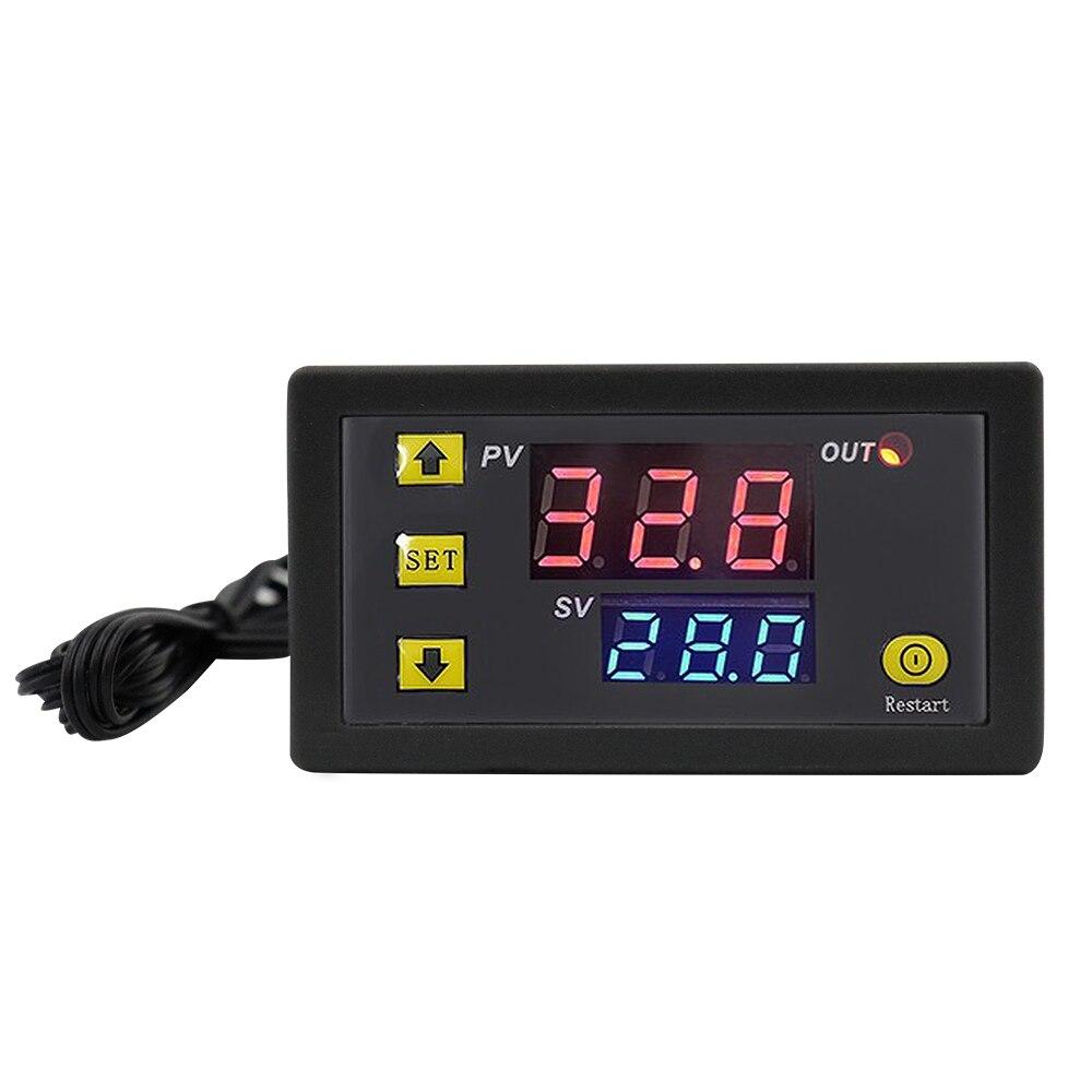 Цифровой термостат W3230 12 В 24 В для контроля температуры со светодиодным дисплеем
