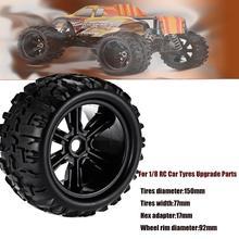 2PCS/ 4PCS 1:8 RC Car Off-Road Bigfoot Truck Tires & Wheels