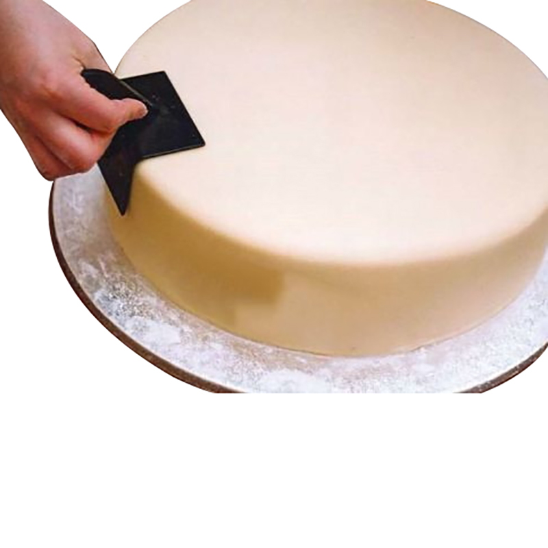 <font><b>Cake</b></font> Smoother Paddle Right Angle <font><b>Tool</b></font> Plastic Kitchen Utensil <font><b>Fondant</b></font> Sugar Craft Polish Finisher <font><b>Decor</b></font> Solid Color Bakeware image