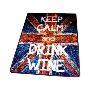 Image 3 - Sand Painting British Flag Trend Carpet Anti slip Mat  Y ok